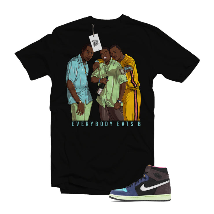 "MTK ""Paid in Full"" Air Jordan 1 ""Bio Hack"" Matching T-Shirt"