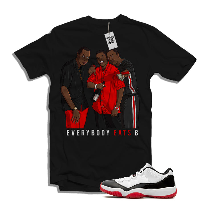 "MTK ""Paid in Full"" Air Jordan Concord 11 ""Bred"" Low Matching T-Shirt"