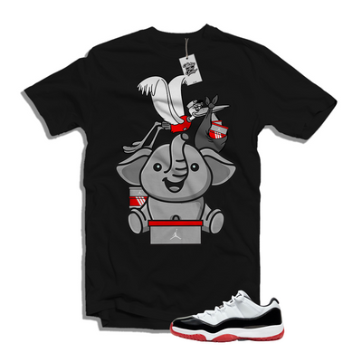 Air Jordan Bred 11 Concord Low Matching Shirt