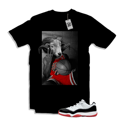 Air Jordan 11 Concord Bred Low Matching Shirt