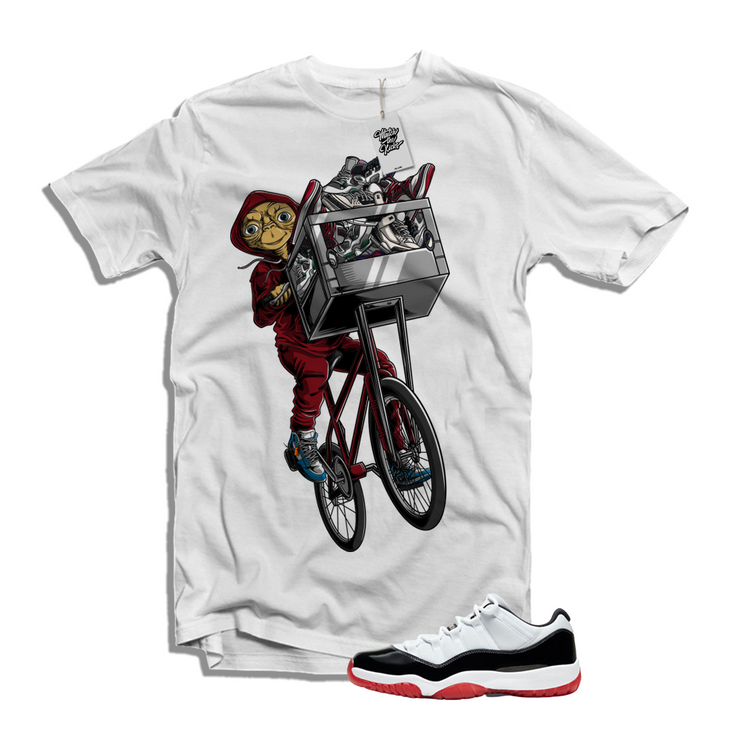 "MTK ""ET"" Air Jordan Concord ""Bred"" 11s Low Matching T-Shirt"