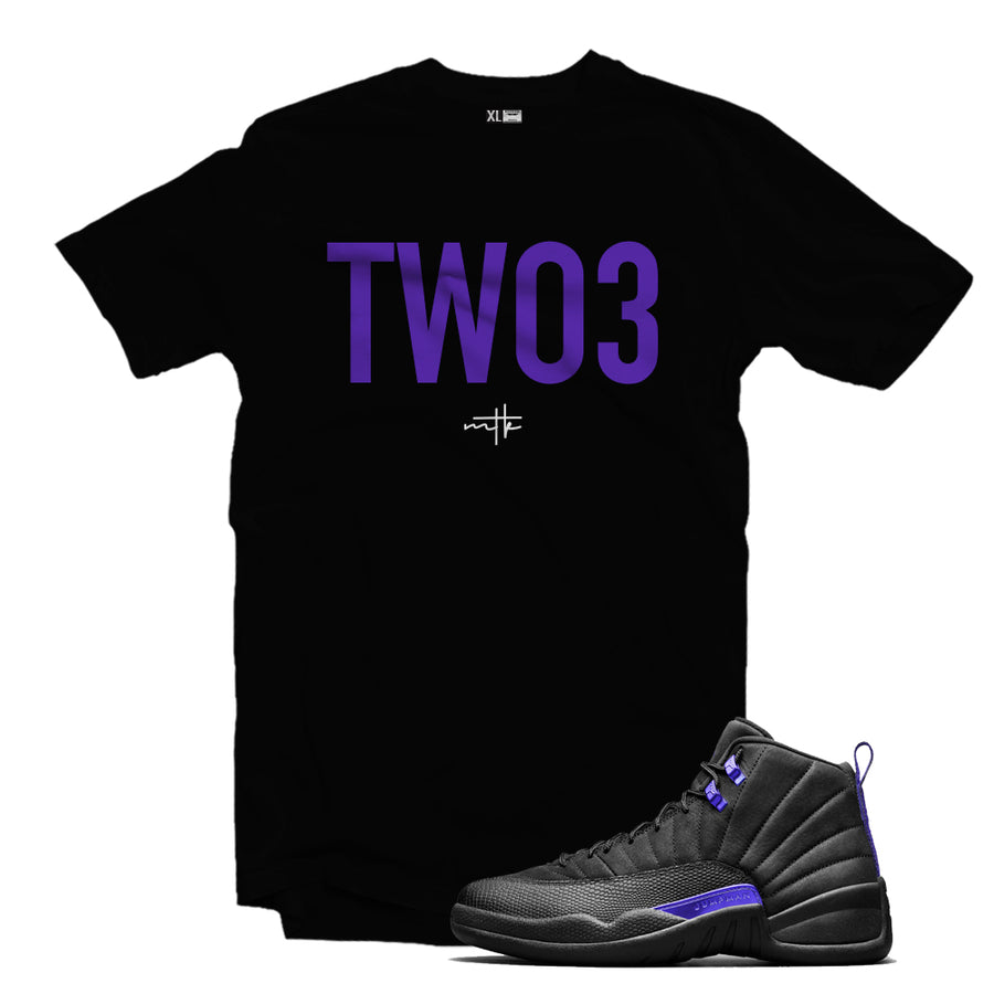 MTK TWO3 Air Jordan Concord 12 Matching T-Shirt