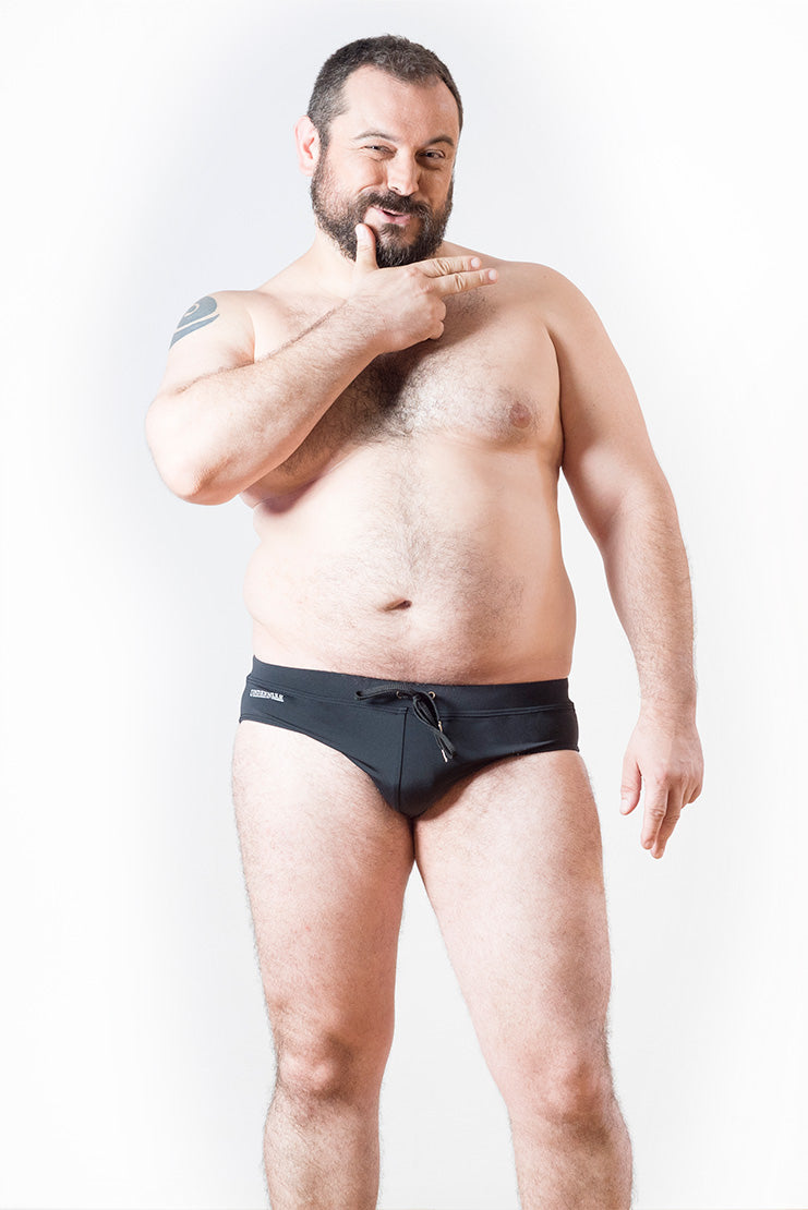 swimwear brief sportwear bear gay men plus size underbear