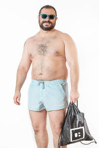 swimwear short sportwear bear gay men plus size underbear
