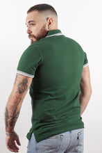 Load image into Gallery viewer, UnderBear Men Polo Shirt New Gold Forest Green