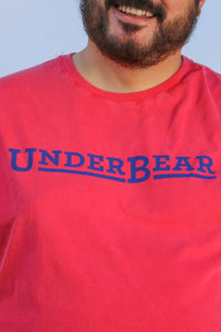 UnderBear Logo Coral Red T-shirt