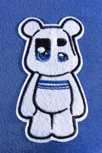 Load image into Gallery viewer, UnderBear UBY patch royal blue T-shirt