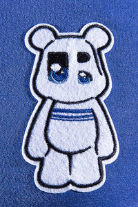 UnderBear UBY patch royal blue T-shirt
