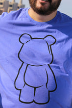 Load image into Gallery viewer, UnderBear UBY Outline Royal Blue T-shirt