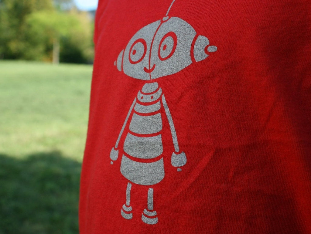 Amanita design Machinarium Berta kids red T-shirt