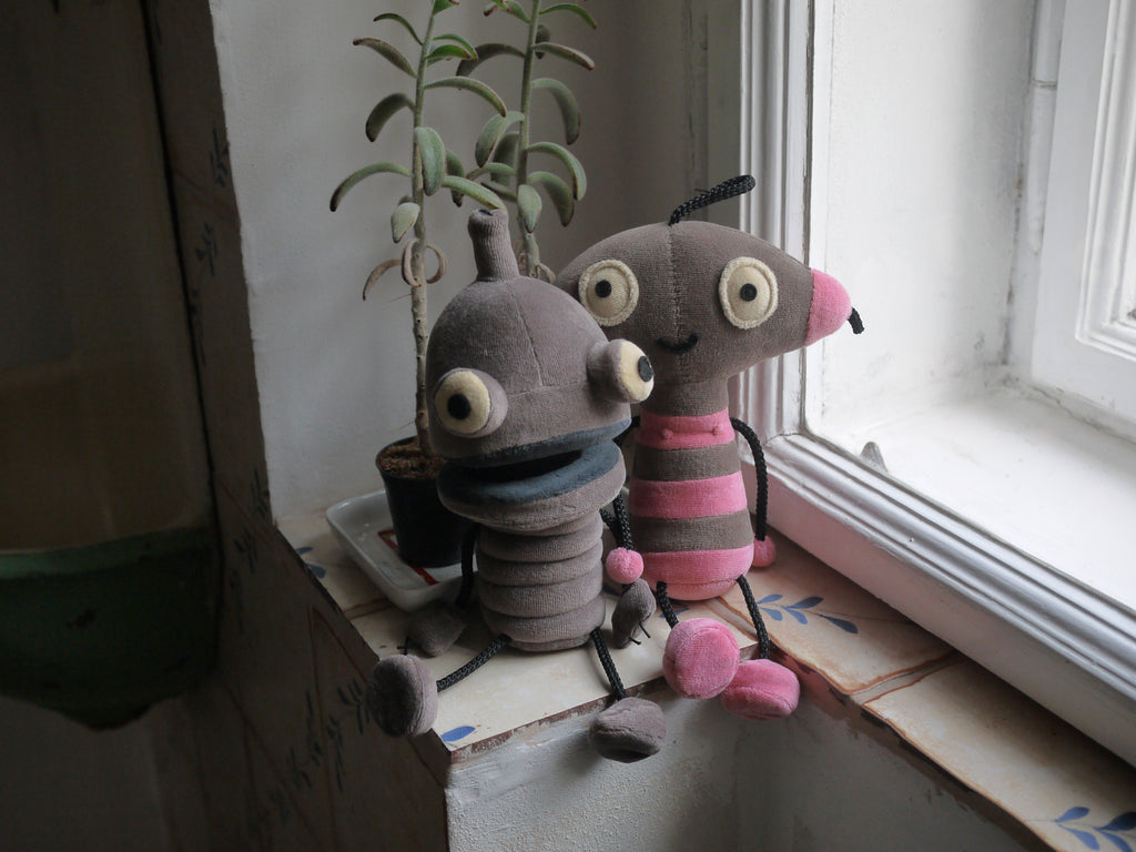 Machinarium Berta & Josef Plush Toys