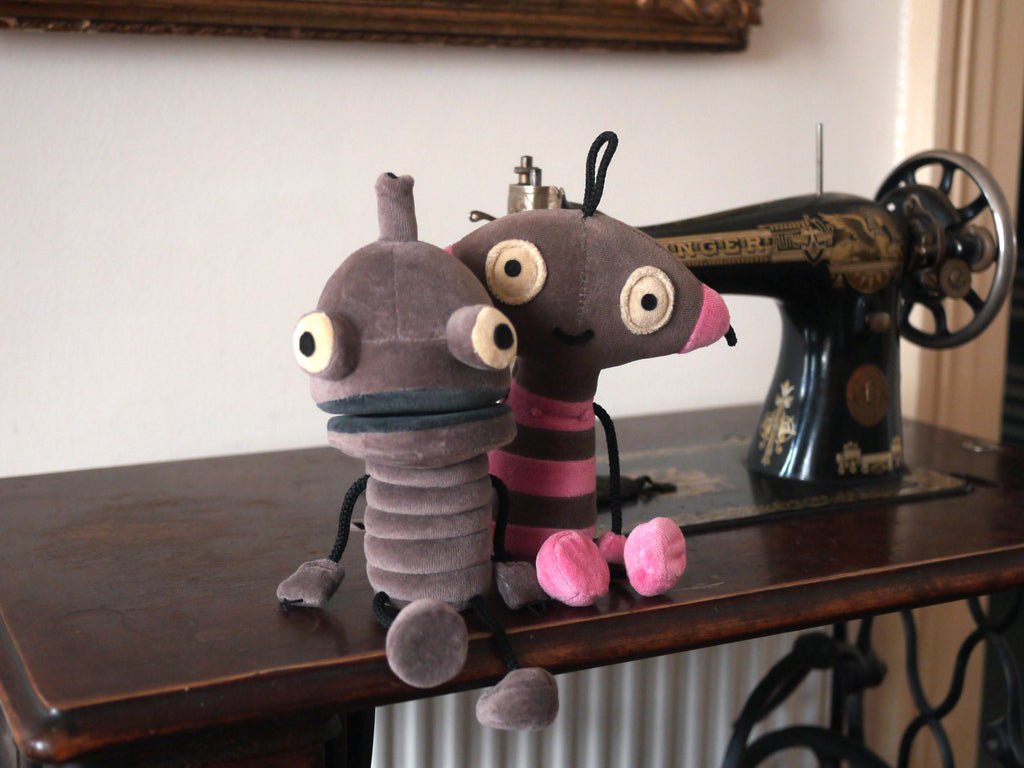 Amanita design Machinarium Berta & Josef Plush Toys