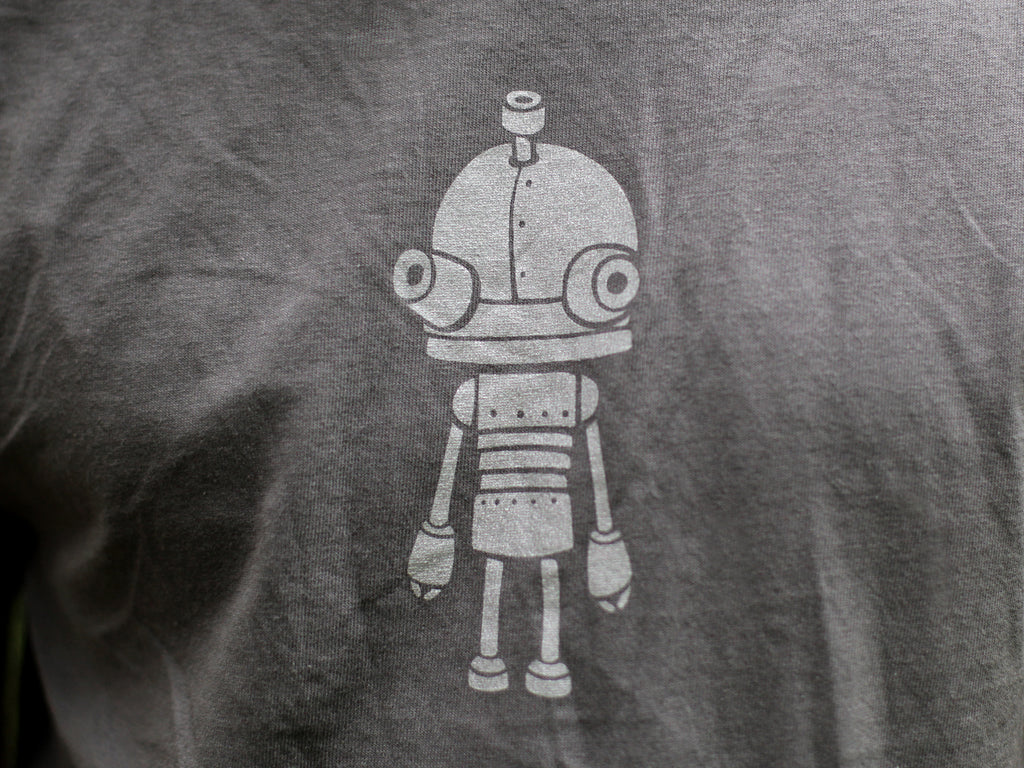 Amanita design Machinarium grey T-shirt