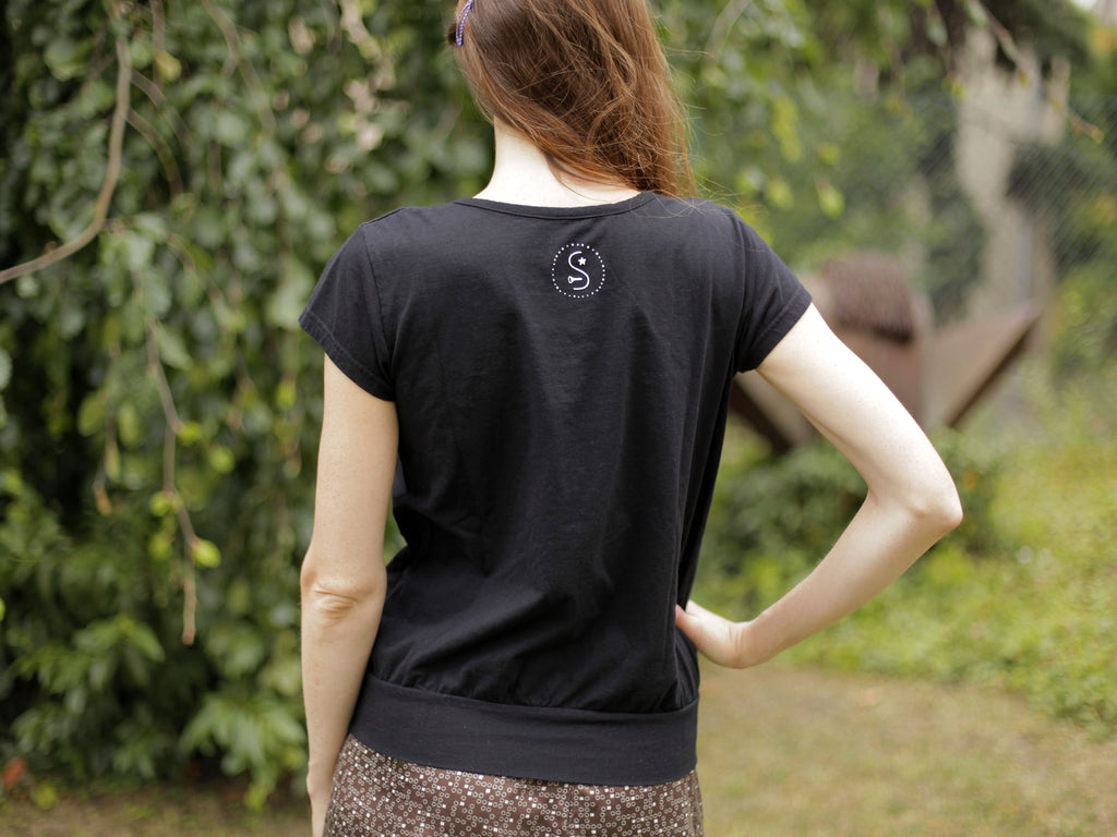 Samorost 3 Gnome Ladies black T-shirt