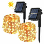 LED Light Garland Solar (12 m) (Refurbished A+)