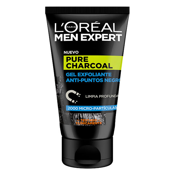 Exfoliante Facial Pure Charcoal L'Oreal Make Up (100 ml)