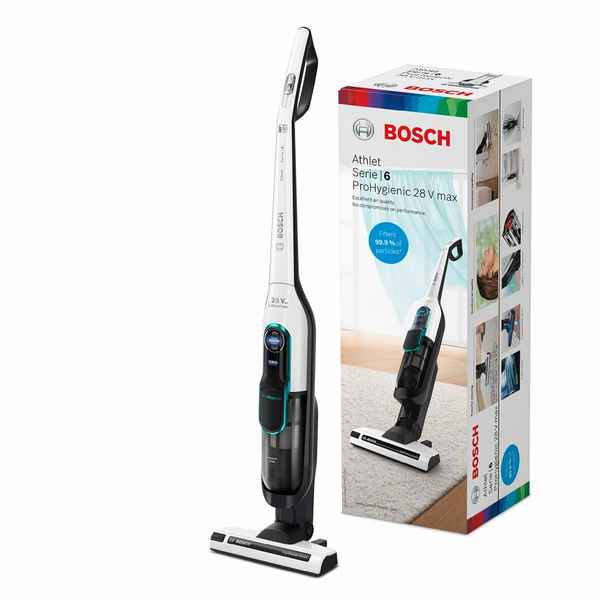 Wireless Stick Vacuum Cleaner BOSCH CH86HYG2 Serie 6 Athlet ProHygienic 28 V