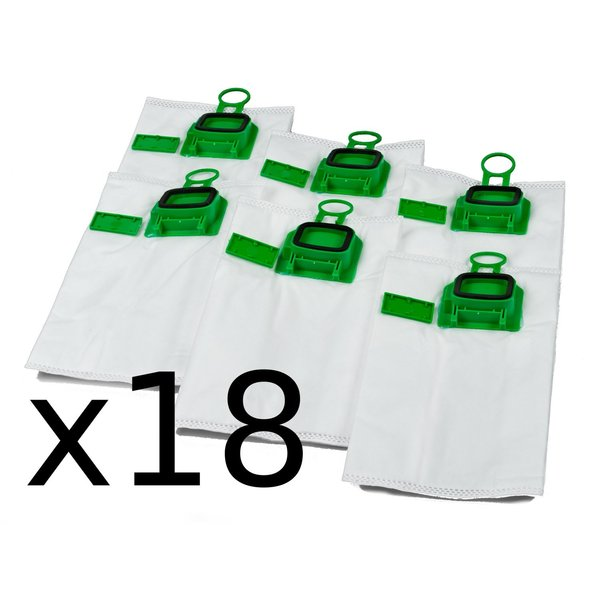 Replacement Bag for Vacuum Cleaner Vorwerk Kobold VK140 - VK 150 (18 Pieces) (Refurbished A+)