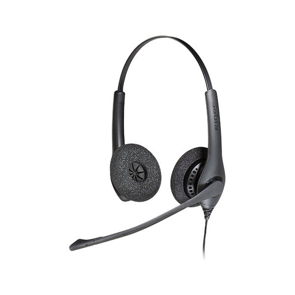 Headphones with Microphone Jabra BIZ 1500 Duo QD Black (Refurbished A)