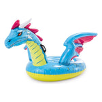 Inflatable pool figure Intex Dragon Blue