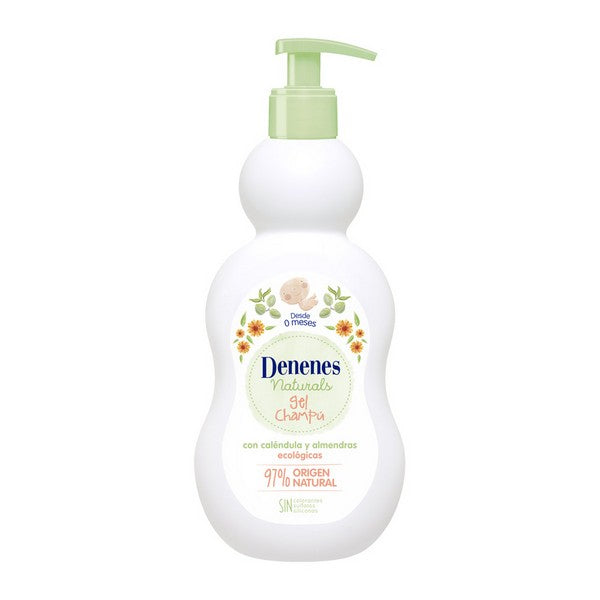 2-in-1 Gel and Shampoo Natural Denenes (400 ml)