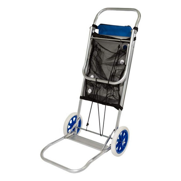 Multi-purpose beach cart Aluminium (52 x 37 x 105 cm)