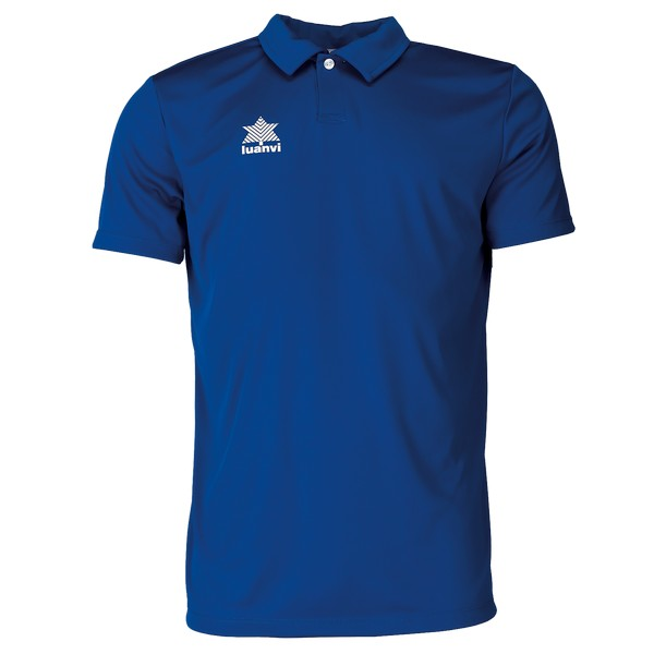 Short Sleeve Polo Shirt Luanvi Pol Blue