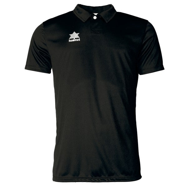 Short Sleeve Polo Shirt Luanvi Pol Black