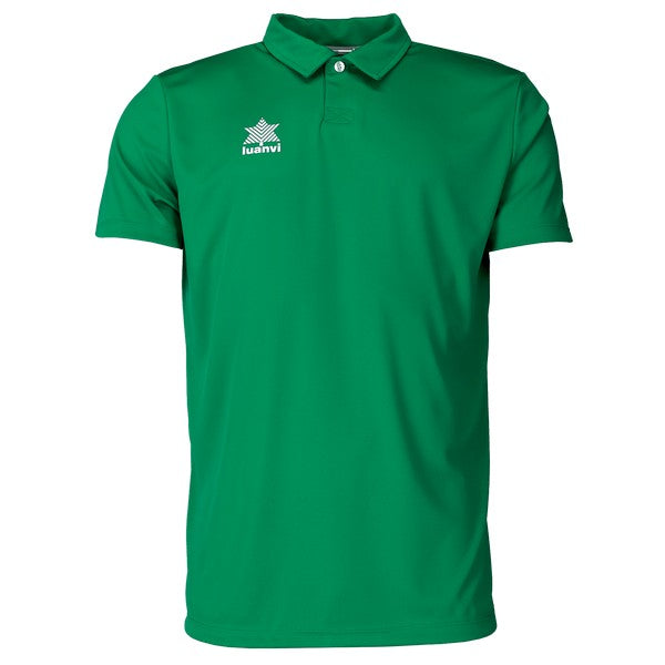 Short Sleeve Polo Shirt Luanvi Pol Green