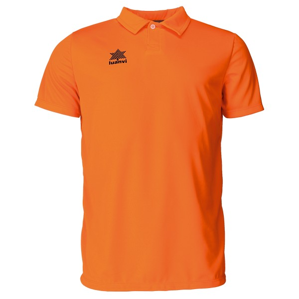 Short Sleeve Polo Shirt Luanvi Pol Orange