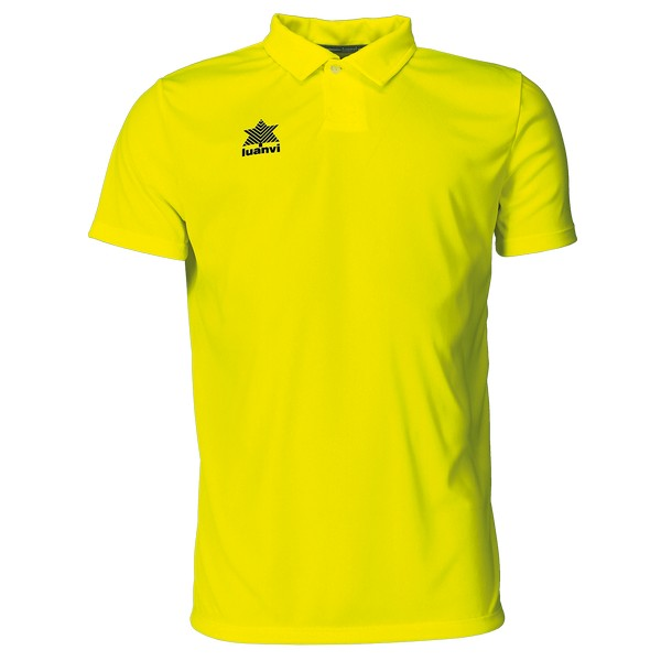 Short Sleeve Polo Shirt Luanvi Pol Yellow