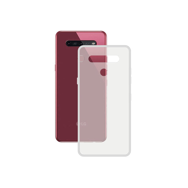 Mobile cover LG K51S Contact TPU Transparent