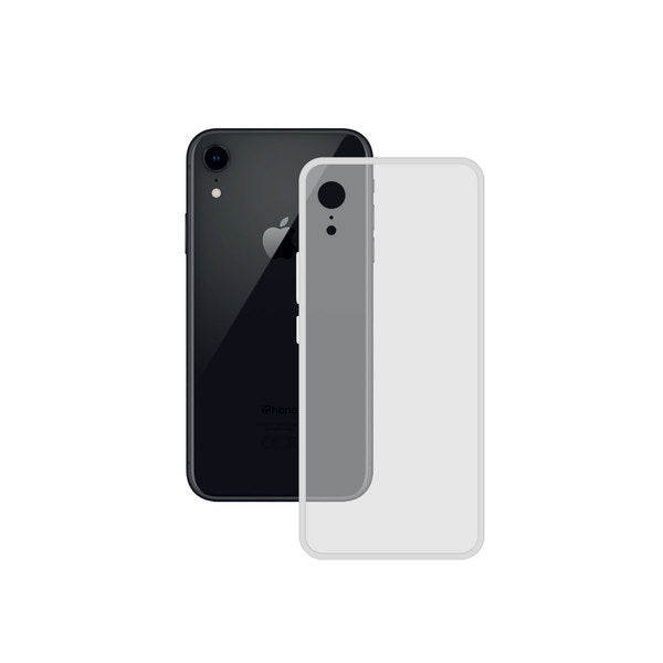 Mobile cover Iphone XR Contact TPU Transparent