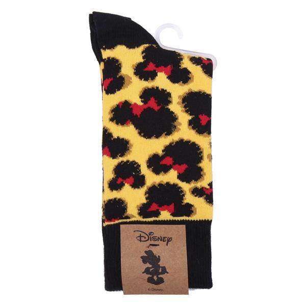 Socks Minnie Mouse Black (One size) Ocre