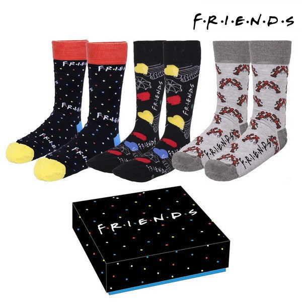 Socks Friends (One size) (3 uds) Multicolour