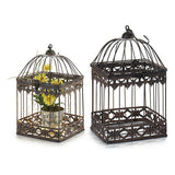 Cage Metal Ironwork (18 x 29,5 x 18 cm)