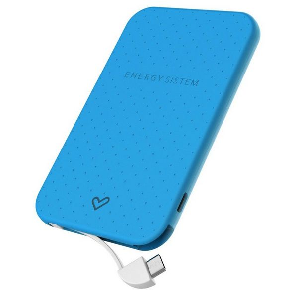 Power Bank Energy Sistem Extra Battery 2500 424429 2500 mAh Blue