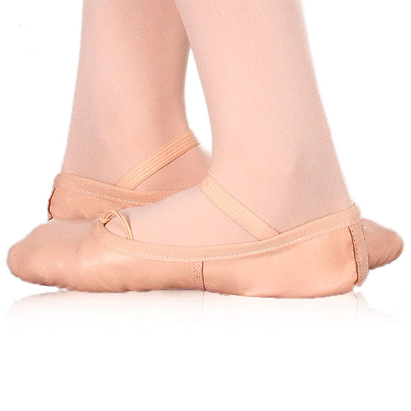 Children's Soft Ballet Shoes Happy Dance Pink