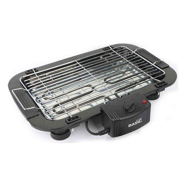 Electric Barbecue Basic Home 2000W (49 x 36 x 10 cm) Black