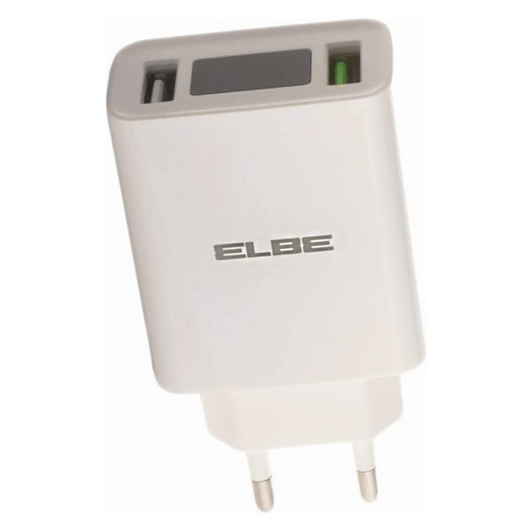Wall Charger ELBE CARG-302-QC USB 3.0 x 2 28 W