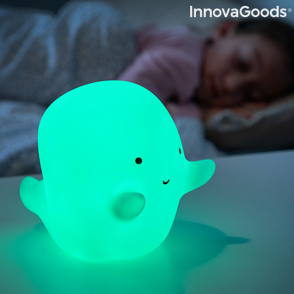 Ghost Multicolour LED Lamp Glowy InnovaGoods