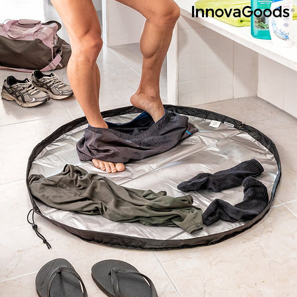 2 in 1 Changing Room Mat and Waterproof Bag Gymbag InnovaGoods