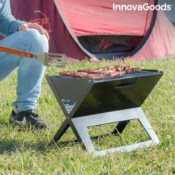 Folding Portable Barbecue for use with Charcoal FoldyQ InnovaGoods