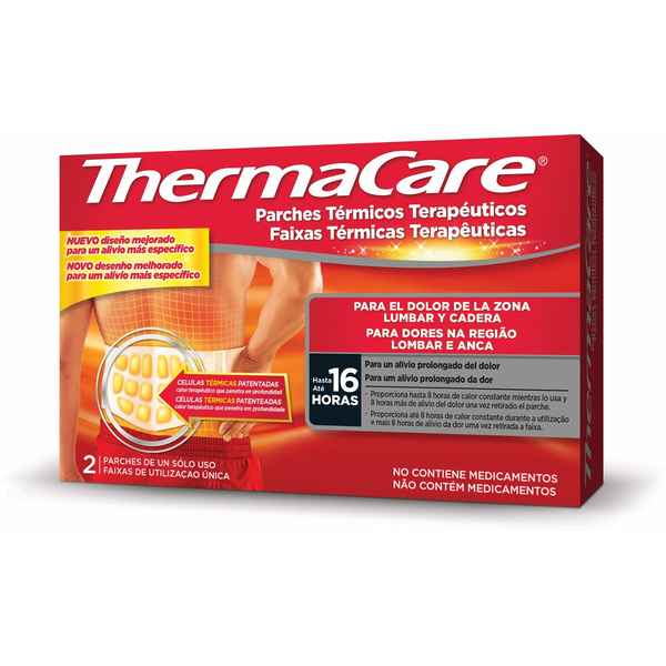 Adhesive Body Heat Patches ThermaCare (2 pcs) (Refurbished A+)