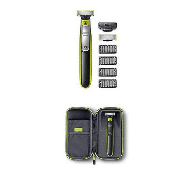 Beard Trimmer Philips OneBlade QP2530/30 Rechargeable Black/Green (Refurbished B)