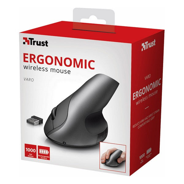 Wireless Mouse Trust Varo Grey (Refurbished B)