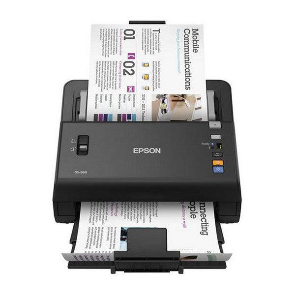Dual Face Scanner Epson DS-860 300 dpi USB 2.0 Black