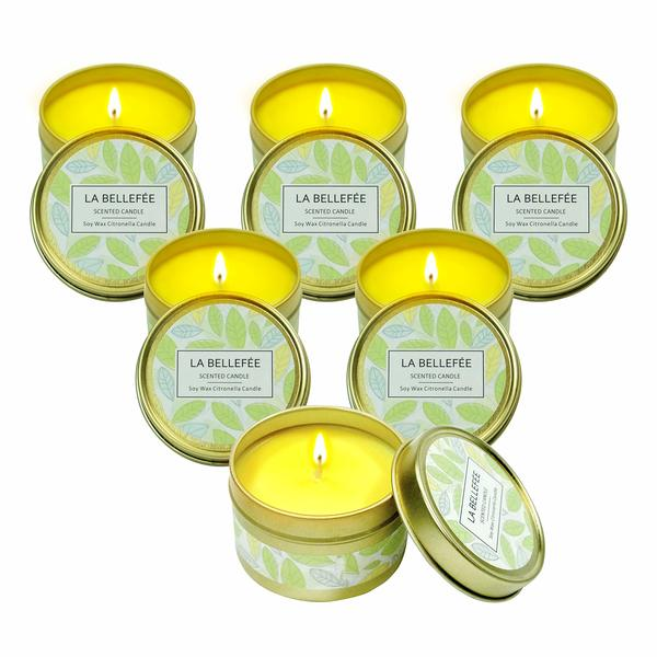 Candles Citronela (6 uds) (Refurbished A+)