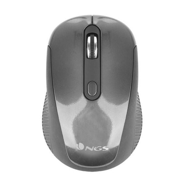 Optical Wireless Mouse NGS HAZE USB 2.0 1600 dpi Grey