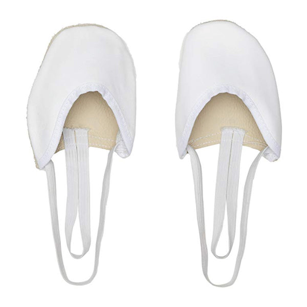 Children's Rhythmic Gymnastics Toe Shoes Valeball White